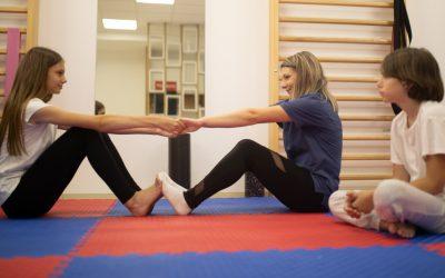 Upis u toku: Korektivna gimnastika za decu u Cacao Fizio Center